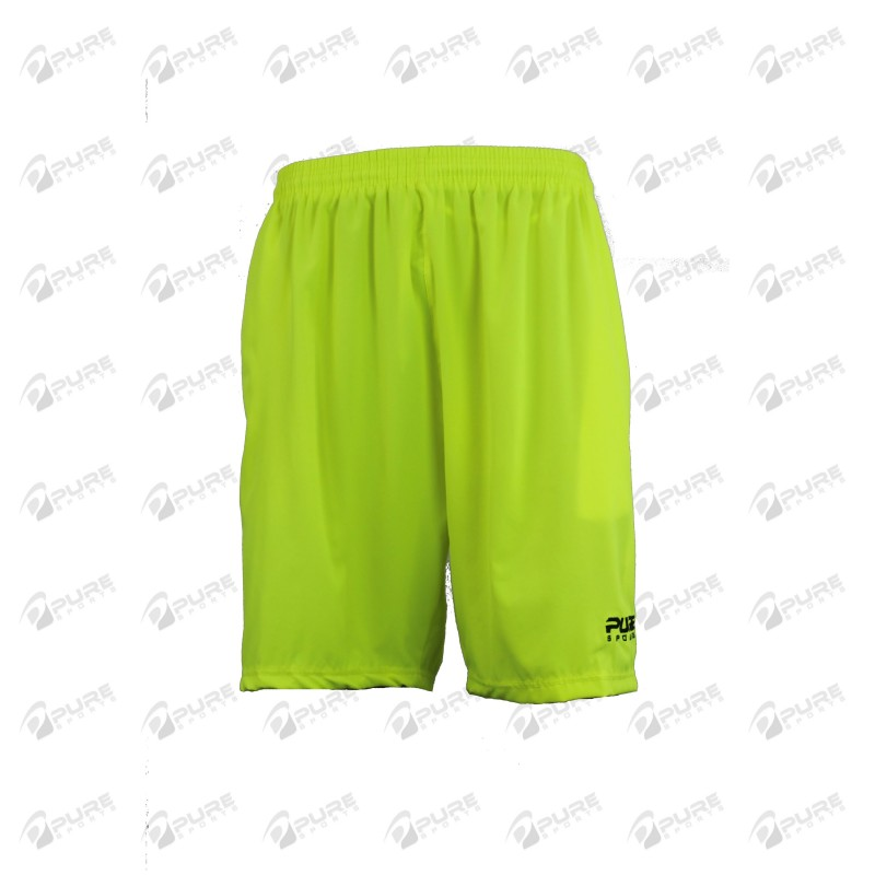 Men's Shorts Neon Yellow