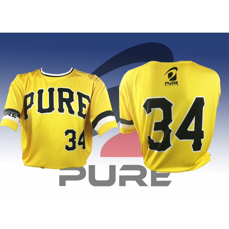 Pure Sports 2018 Conference Jersey - Yellow