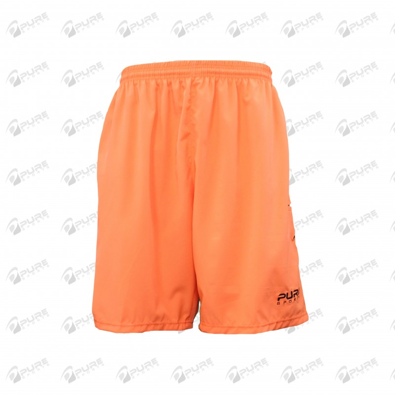 Men's Shorts Neon Orange