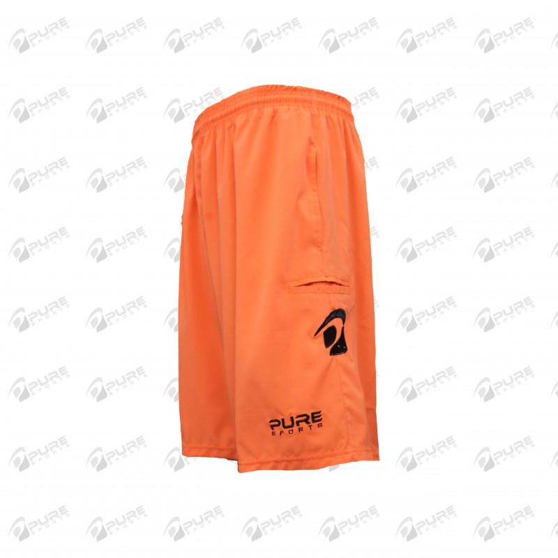 Men's Shorts Neon Orange